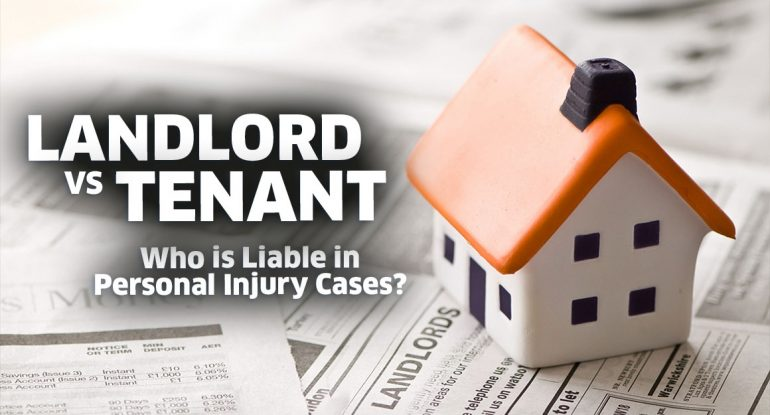 Who is liable in a personal injury cases?
