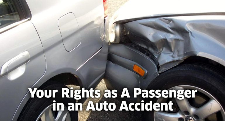 Your rights in an auto accident