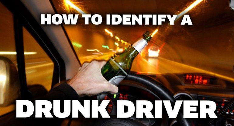 Identify a drunk driver