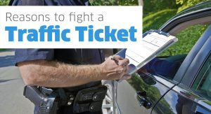 Fight a traffic ticket
