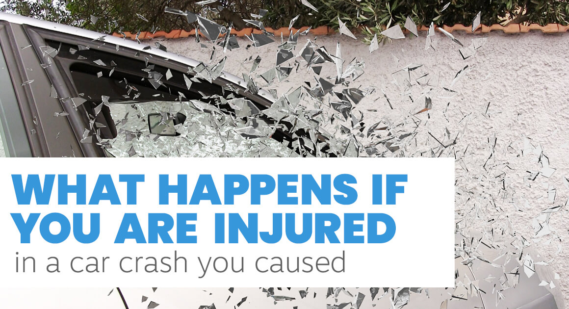 What happens if you are injured in a car crash