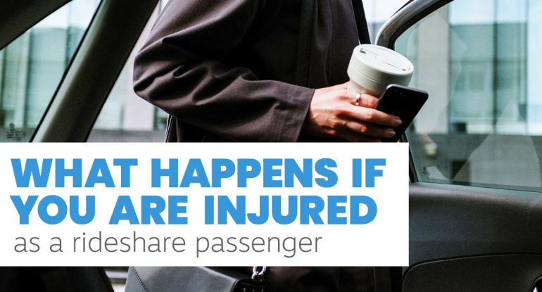 Rideshare Passenger Injury